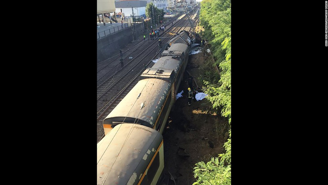 Spanish state-run rail administrator ADIF has opened an investigation to find out the cause of the derailment.