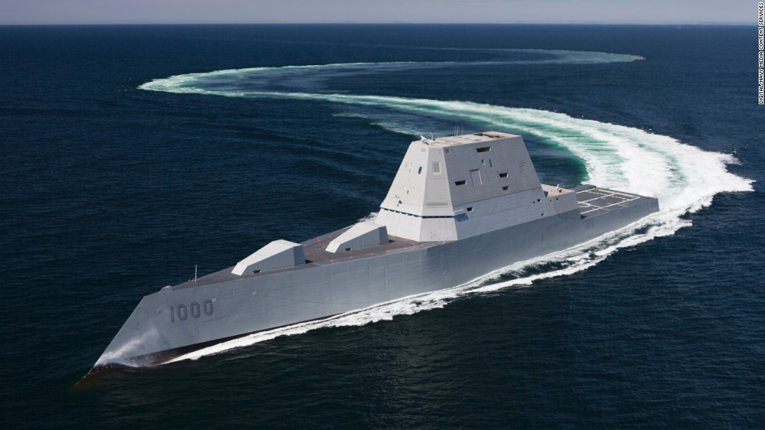 Uss Zumwalt Stealth Destroyer Joins Navy Fleet Cnnpolitics