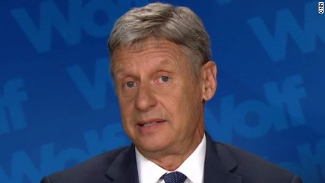 Gary Johnson responds to Aleppo gaffe