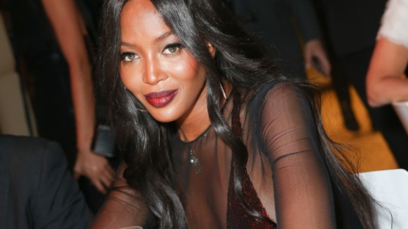 Naomi Campbell talked about her interaction with Donald Trump for charity.