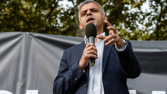 """Khan was himself diagnosed with adult-onset asthma, and he was elected in June on the  promise of a """"greener, cleaner"""" London.  He says he will implement the vehicle ban in two parts and work with all stakeholders to minimize disruption, before the ban takes full effect in 2020."""