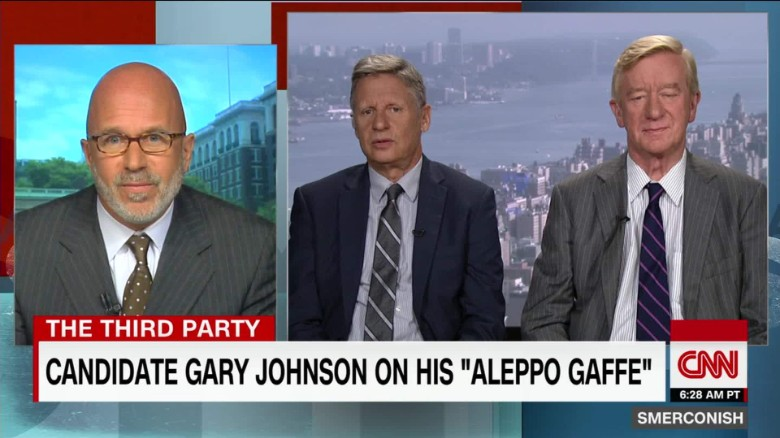 "Libertarians on Aleppo ""Gaffe,"" Getting to Debate Stage_00021306"