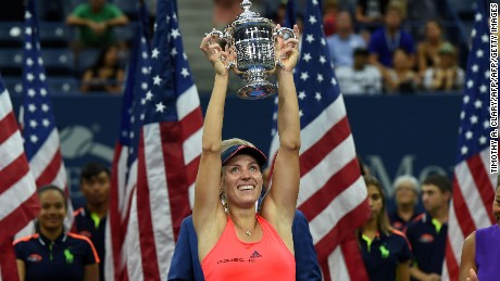 Angelique Kerber wins US Open