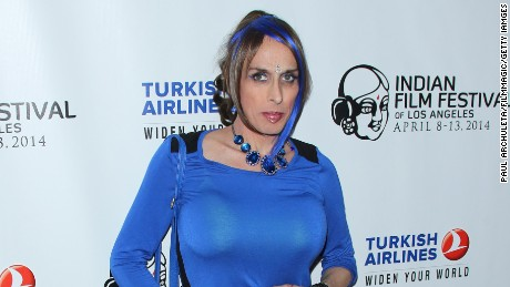 TV Personality Alexis Arquette attends the Indian Film Festival of Los Angeles opening night gala at ArcLight Cinemas on April 8, 2014 in Hollywood, California.