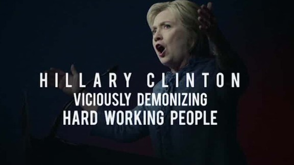 hillary clinton deplorables trump ad carroll newday_00005121.jpg