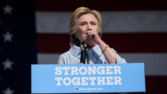 Democratic presidential nominee Hillary Clinton caught pneumonia during her 2016 campaign, leading to worries about her health and fitness for office.