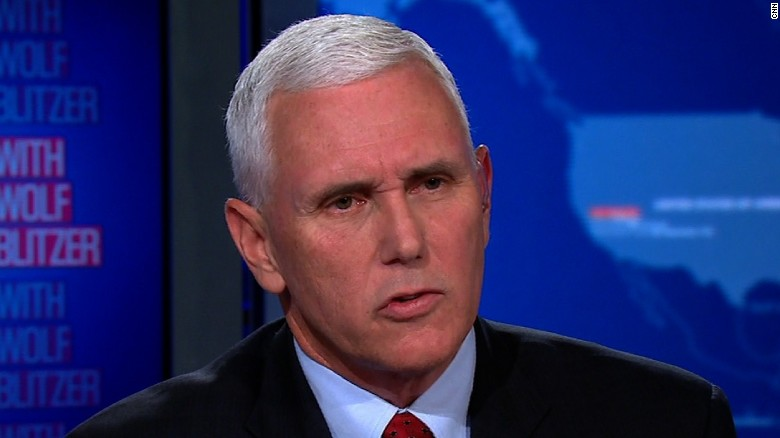 Pence: We need a president who will command respect