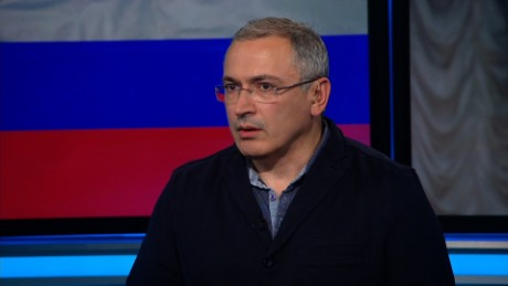 Khodorkovsky: Putin wants to be 'irreplaceable'