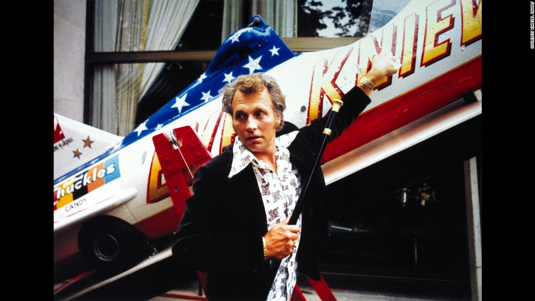 "Although it failed, the Snake River Canyon jump added to Knievel's already considerable legend. He broke his pelvis while attempting his next jump, eight months later at London's Wembley Stadium, and  attempted six more public jumps before retiring in 1980. He died in 2007. ""My dad jumped 275 times, and it's not the 260 times he made it that made him famous,"" his son Kelly Knievel says. ""It's the 15 times he crashed."""