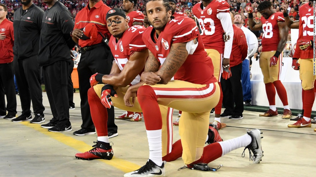 31b9048160b National Anthem protests took Colin Kaepernick from star QB to unemployment  to a bold Nike ad - CNN