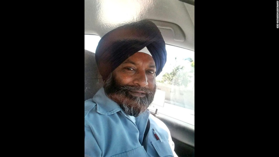 "Los Angeles County bus driver Balwinder Jit Singh was attacked on his bus by a man who called Singh a ""terrorist"" and a ""suicide bomber."" His attacker was charged with a hate crime; Singh was left with a disfigured face."
