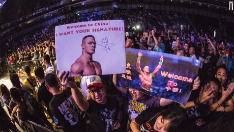 Chinese fans of WWE are growing in numbers.
