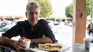 Bourdain to Cooper: 'I'm not a dream date for a vegetarian'
