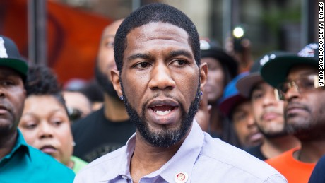New York City Council Member Jumaane Williams attends the National Anti-Violence Community Press Conference at Irving Plaza on May 26, 2016 in New York City.