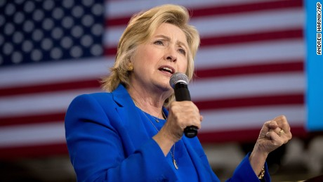 "FILE - In this Sept. 8, 2016 file photo, Democratic presidential candidate Hillary Clinton speaks at a campaign rally in Charlotte, N.C. A war of words over Donald Trump's ""deplorables"" is intensifying as Republicans and Democrats fight to score political points over Hillary Clinton's charge that millions of the New York billionaire's supporters are racist, sexist and homophobic. (AP Photo/Andrew Harnik, File)"