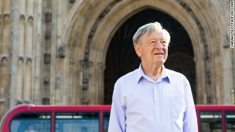"""The new generation of refugees could make a tremendous contribution to Britain,"" said Alf Dubs."