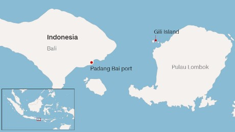 Bali and the Gili Islands are both popular tourist destinations in Indonesia.