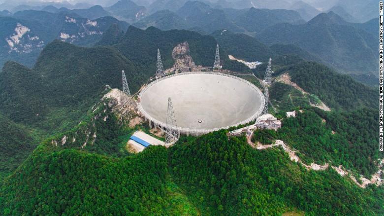 30 football field sized telescope ile ilgili görsel sonucu