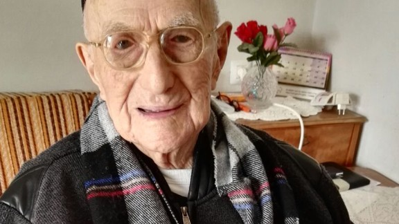 Yisrael Kristal, 113, lives in Haifa, Israel, but grew up in Poland and survived being sent to Auschwitz. He ran candy stores in Lodz and in Haifa but keeps a healthy and simple diet. He credited that, along with prayer, for his longevity. He celebrated his bar mitzvah, which had been delayed by World War I, when he turned 113.