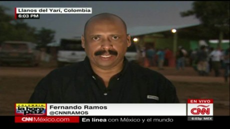cnnee panorama live ramos 10 conferencia farc_00005511