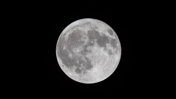Jason Belsky says he pulled himself out of bed after remembering the bright lunar phenomenon was underway. Here's his shot from Friday night, September 16, in Rockville Centre, New York.