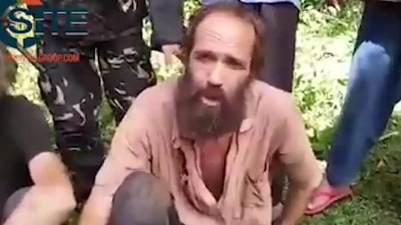 Kjartan Sekkingstad appears in a video originally released by Abu Sayyaf in May 2016.