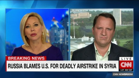 Russia accuses U S  of defending ISIS