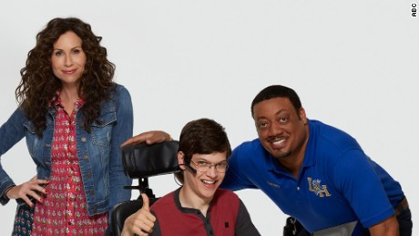 "Minnie Driver stars in ""Speechless"" on ABC."