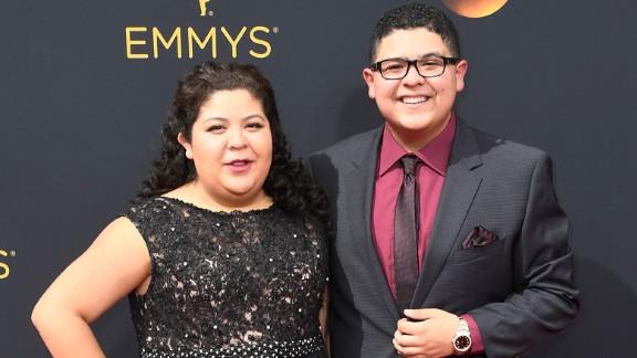 Raini Rodriguez and brother Rico Rodriguez