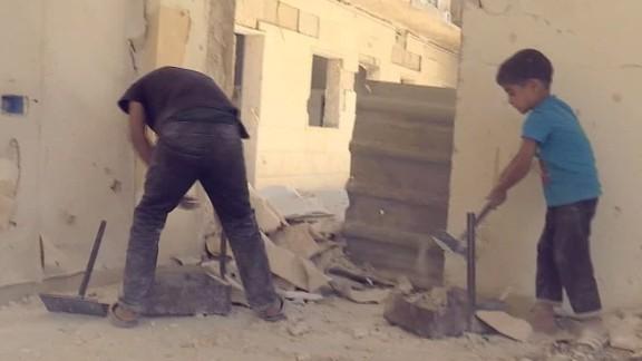 syria picking up the pieces aleppo pleitgen pkg_00003812.jpg