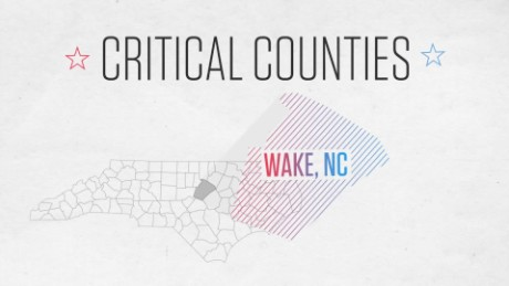 Critical counties: Wake County, NC, could put up a fight