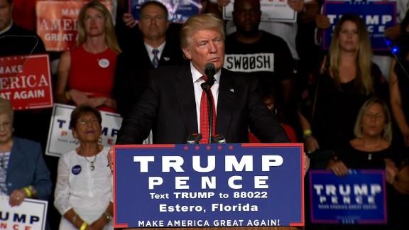 donald trump estero rally