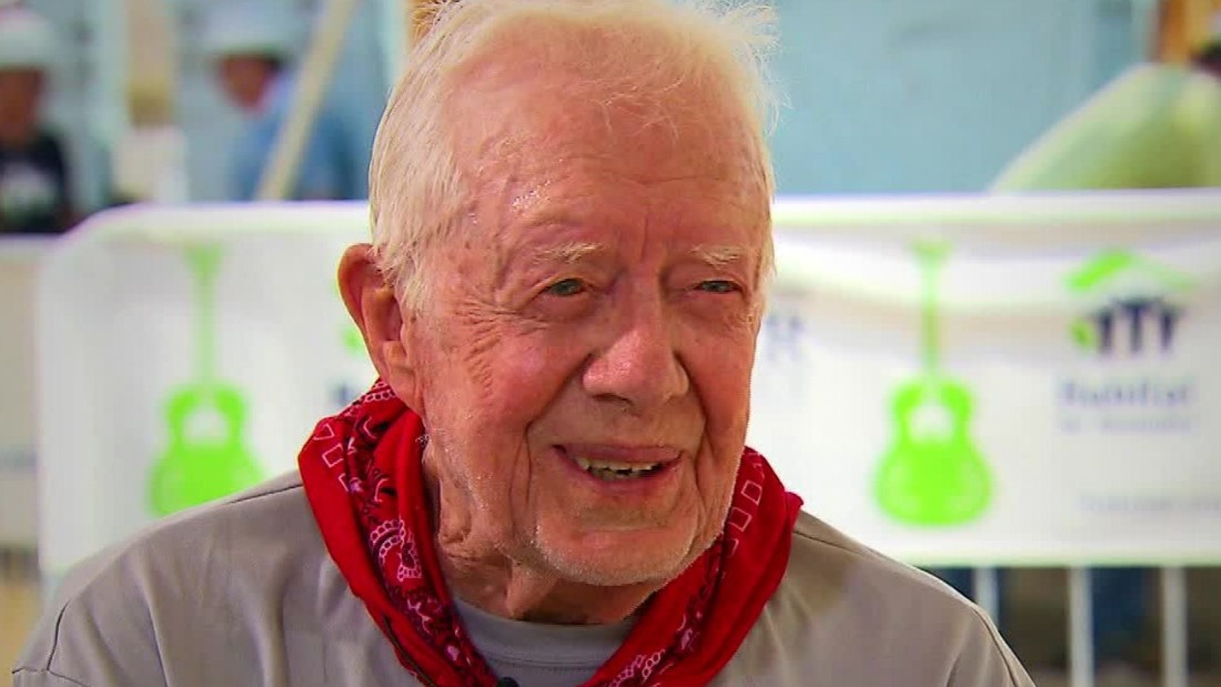 Jimmy Carter just became the oldest living former president ever