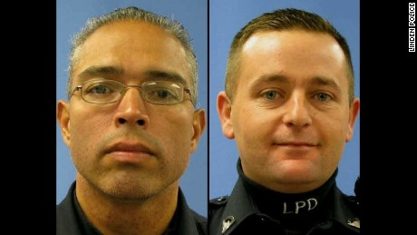 Officer Angel Padilla and Officer Peter Hammer.