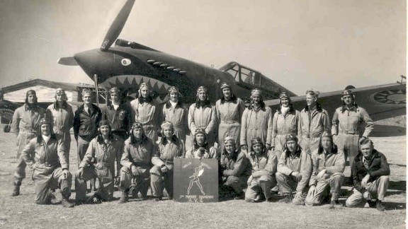 "The ""Hell's Angels"" 3rd Squadron was one of three Flying Tiger squadrons that fought the Japanese."
