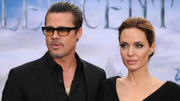 Brad Pitt and Angelina Jolie in 2014