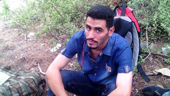 Aeham made his way to Europe carrying clothes and photographs of his family in a backpack.