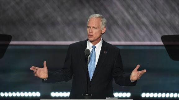 Sen. Ron Johnson, a Wisconsin Republican, is seen in July 2016.