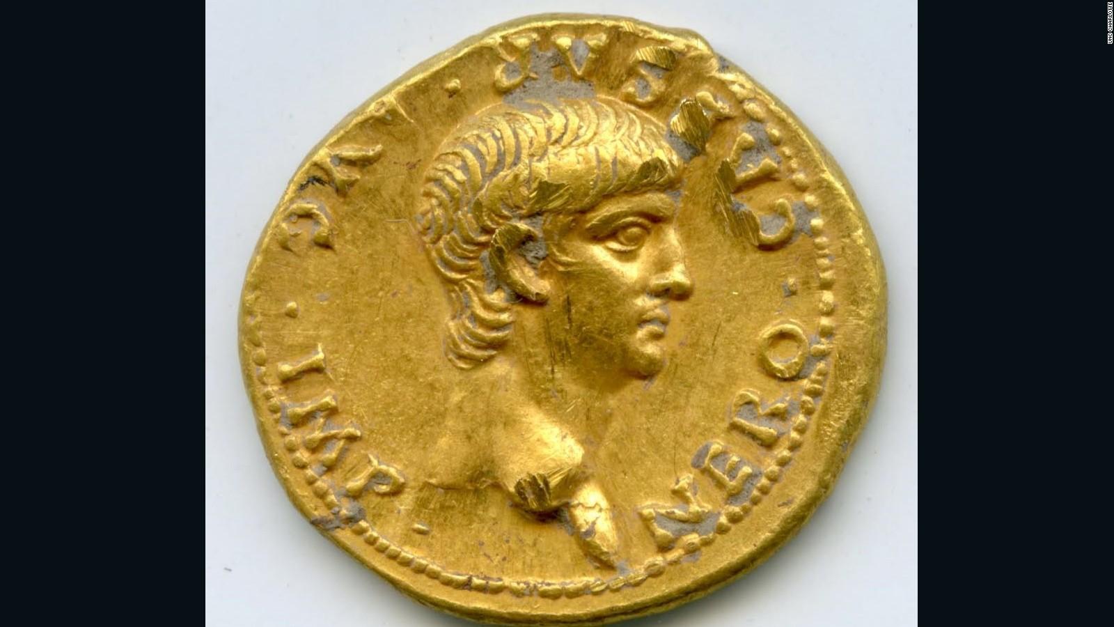 Uno Studio In Nero rare, 2,000-year-old roman coin discovered in jerusalem