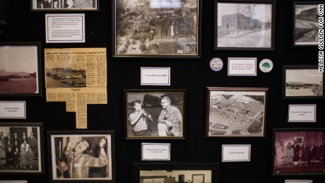 The Albertville Museum displays major moments in the city's history, but so far the exhibits haven't mentioned immigration.