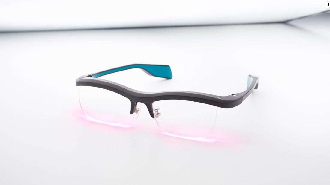 Using embedded micro speakers and customizable LED lights, Fun'iki Ambient Glasses (from $266) link up to your smart phone to alert you to emails, messages, scheduled events, stocks, and weather. When a user receives a notification, the sounds and colors emitted by the glasses help wearer decide whether or not they need to reach for their phone.
