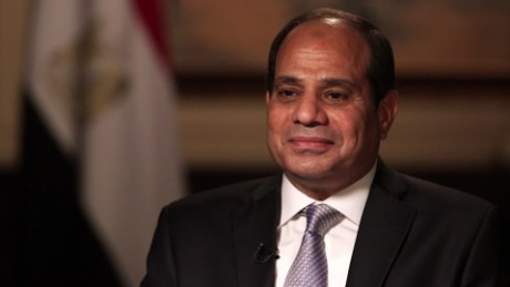 Egypt president: It's safe for tourists to visit