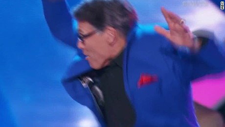 Rick Perry DWTS celebrates HLN_00010512