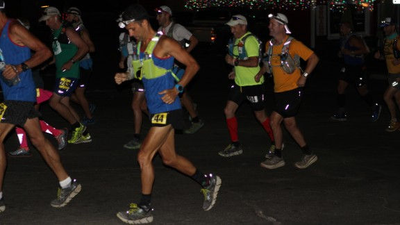 Before the AC100 is over for most finishers, the runners will have seen two sunrises.