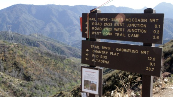 Runners see the majesty of the San Gabriel Valley over 30 or so hours of straight running.