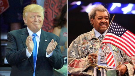 Don King drops N-word while introducing Donald Trump