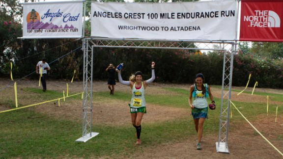 About 60% to 70% of runners typically finish the AC100. This year, 185 started and 130 finished.