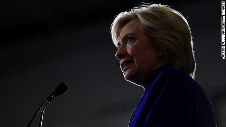 Hillary Clinton speaks during a campaign event at Frontline Outreach and Youth Center on September 21, 2016 in Orlando, Florida.