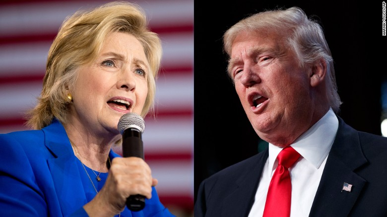 How the road to 270 has shifted for Trump, Clinton