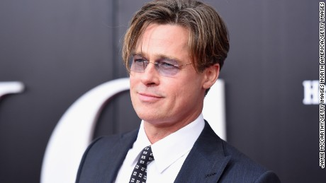 Brad Pitt is in the process of getting divorced from Angelina Jolie.